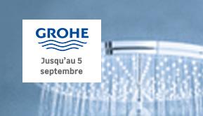 Grohe - Jusqu'au 5 septembre