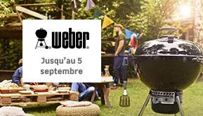 Weber - Jusqu'au 5 septembre