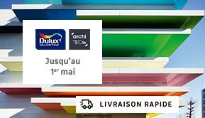 Dulux - Architec - Jusqu'au 1er mai - LIVRAISON RAPIDE