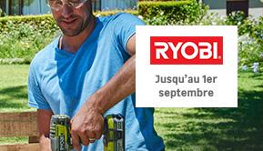 Ryobi - Jusqu'au 1er septembre