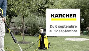 Karcher - Du 6 septembre au 12 septembre