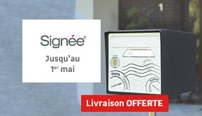 Signée - Jusqu'au 24 avril - LIVRAISON OFFERTE