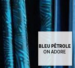 Bleu Pétrole on adore