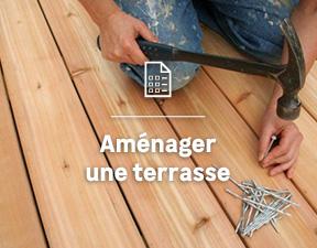 créer une terrasse